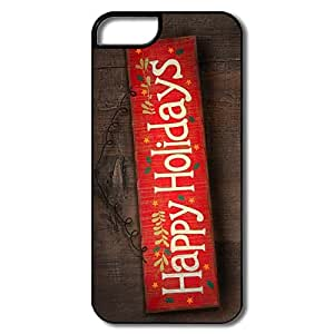 Custom Shell Fashion Happy Holidays For IPhone 5/5s