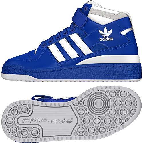 De J Forum ftwbla Bleu Mixte Adulte Adidas 000 ftwbla reauni Chaussures Mid Fitness dqUI4Hn
