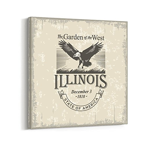 Illinois State Flag Image - 3