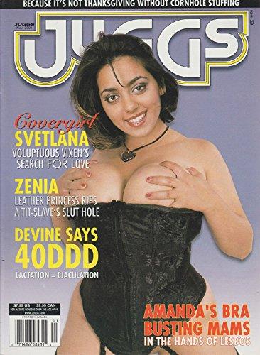 JUGGS NOV 2002 SVETLANA ZENIA DEVINE AMANDA BRA BUSTING MAMS BUSEN BOOBS SEALED