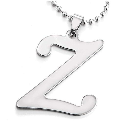 iMETACLII Grande Nombre Inicial Letra del Alfabeto Z ...