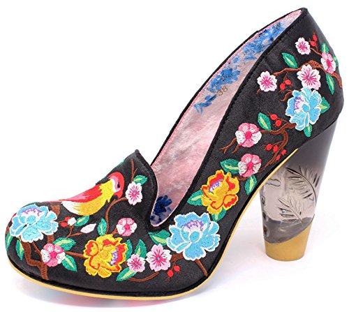 para de Choice Zapatos Irregular Sintético Mujer negro Material Vestir de 0HqSdI