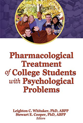 Download Pharmacological Treatment of College Students with Psychological Problems (Journal of College Student Psychotherapy) Pdf