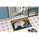 Caroline's Treasures SS8183MAT Great Pyrenees Indoor Outdoor Mat 18x27 Doormat, 18H X 27W, Multicolor 4
