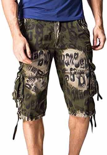 31fb7115f0b Clothing Clothing, Shoes & Jewelry Suma-ma Fashion Mens Casual Pocket Pants  Beach Work Joggers Short ...