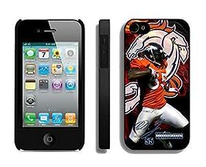 Denver Broncos D.J. Williams iPhone 4 4S Case DLP4440107