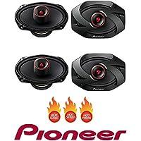 Pioneer TS-6900PRO 600W Peak (100W RMS) 6x9 Pro Series 2-Way Coaxial Car Speakers