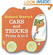 #4: Richard Scarry's Cars and Trucks from A to Z (A Chunky Book(R))