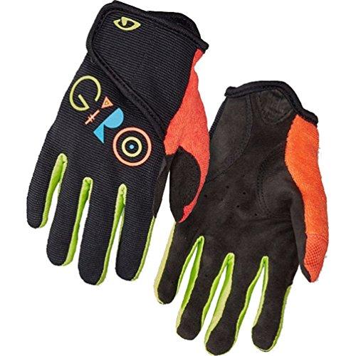 (Giro DND Jr. II Cycling Gloves Black Youth Medium)