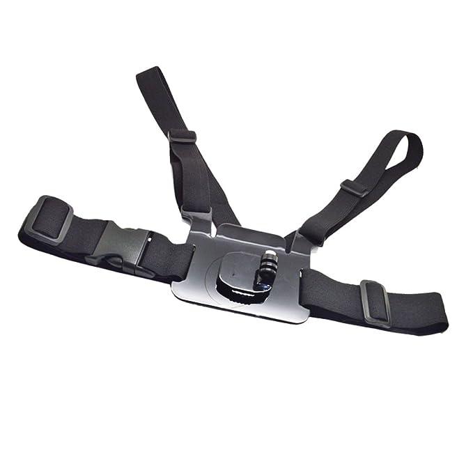MagiDeal Ajustable Pecho Cinturón Cinturón Soporte Cámara Trípode ...