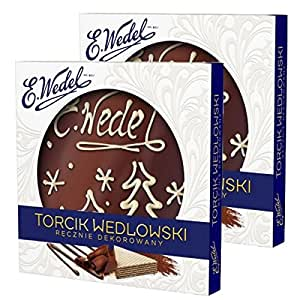 Torcik Wedlowski - Chocolate Wafer Tart - 2 packages!