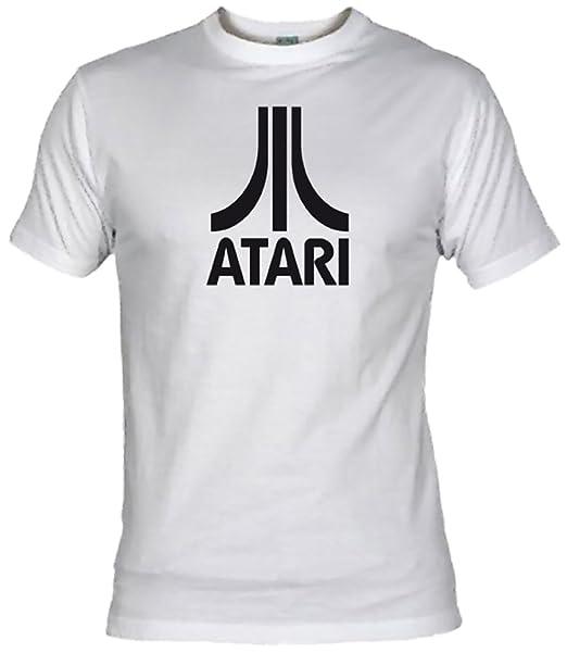 Camisetas EGB Camiseta Atari Adulto/niño ochenteras 80Žs Retro: Amazon.es: Ropa y accesorios