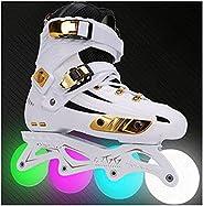 Inline Skates, Adult Fitness Roller Blades, Adult Fitness Roller Blade for Women Men Professional Roller Skate