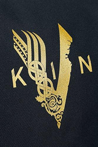 Vikings Logo Umhängetasche schwarz Schwarz