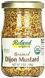 Roland Mustard Grained Dijon Org, 7 oz
