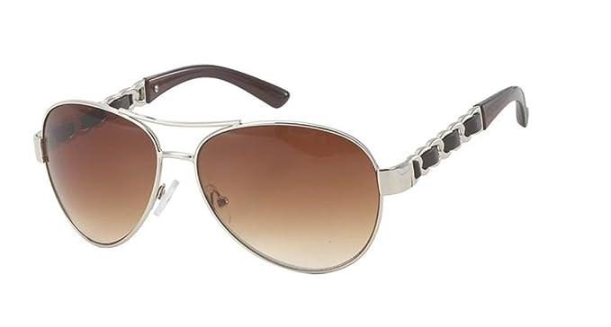 Gafas de sol Gafas de sol de aviador gafas porno cuero ...