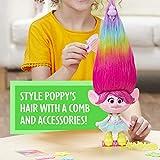 Dreamworks Trolls Party Hair Poppy Musical Doll, Sings