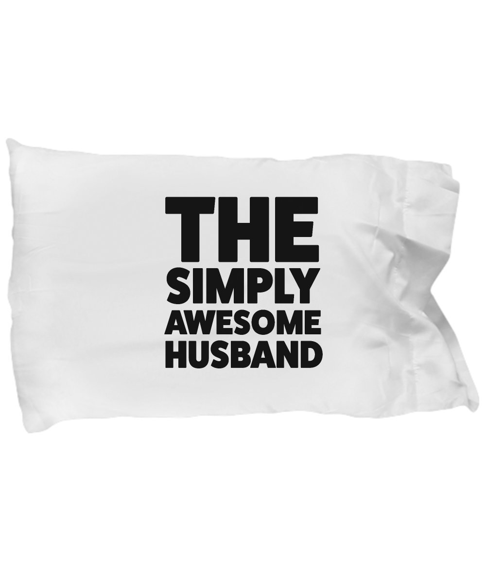 Husband Pillow Case - Fathers Day Gifts for Husband From Wife Birthday On Anniversary Wedding Sexy To Be Unique Just Because Christian Gamer Golfer