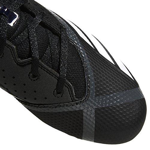 Scarpa Da Calcio Adidas Mens Freak X Carbon Mid Nero / Bianco / Ngtmet