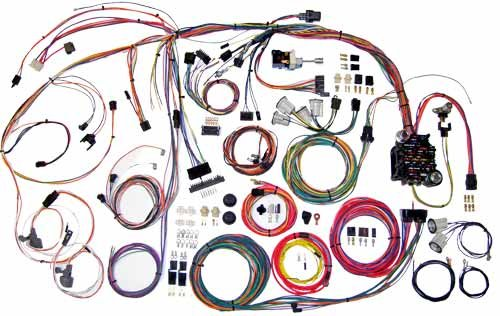 519EL8pEdsL amazon com american autowire 510105 wiring harness automotive Wire Harness Assembly at alyssarenee.co