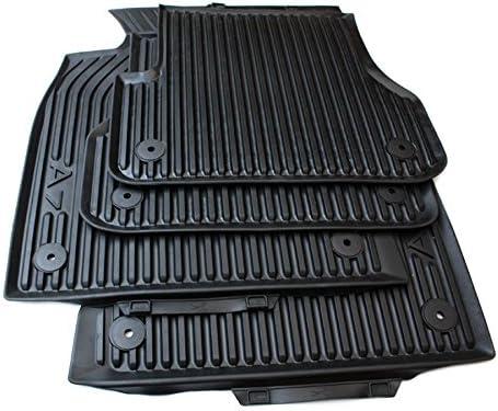 Gummimatten Audi A7 Sportback 4 teilig Gummifußmatten Original Qualität schwarz