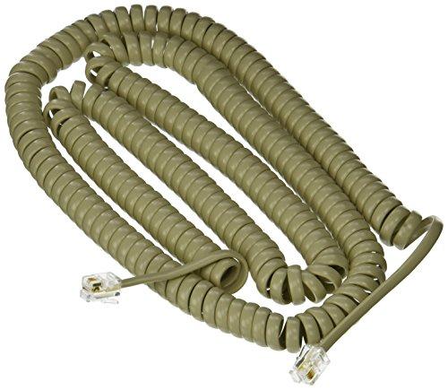 Nortel Norstar 25 ft. Ash Handset Cord for M7100, M7208, M7310, M7324 Phone (in Factory Sealed Bag)