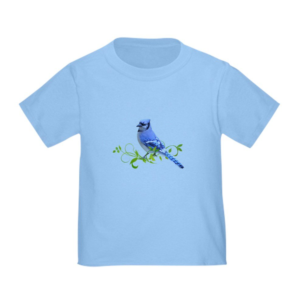 CafePress - Blue Jay - Cute Toddler T-Shirt, 100% Cotton