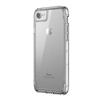100% authentic 0c43d be6b6 Griffin Survivor Clear Case Cover for iPhone 8, Clear