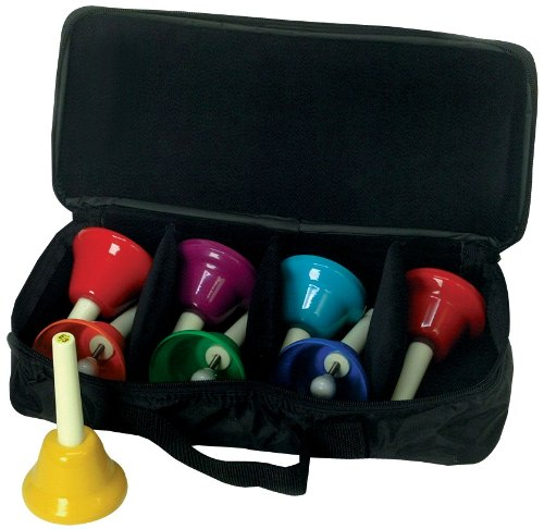 West Music 8-Note Diatonic Handbell Set w/Case by West Music