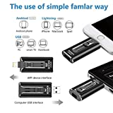 iOS Flash Drive 128GB iPhone Menory Stick for