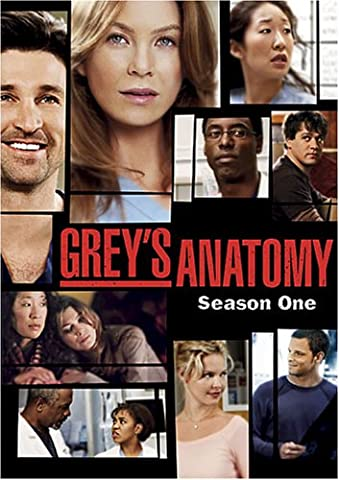 Grey's Anatomy: Season 1 (Greys Anatomy Dvd Seasons)
