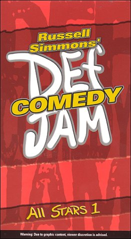 Russell Simmon's Def Comedy Jam 5 Volume Set [VHS] by