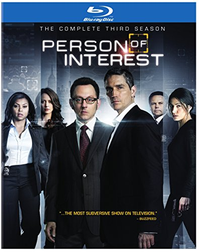 Blu-ray : Person of Interest: The Complete Third Season (Boxed Set, 4 Disc)