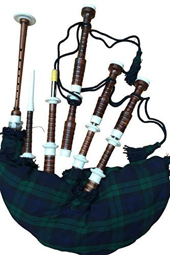 b6f09687f0 McWilliams GREAT HIGHLAND SCOTTISH BAGPIPE WITH PRACTICE CHANTER (STARTER  PACKAGE PIPE)