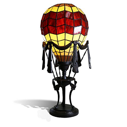 Liftoff Red 23'' Tiffany-Style Red Balloon Table Lamp by Liftoff