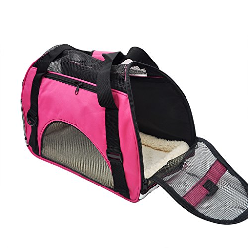 Pet-Cuisine-Breathable-Soft-sided-Pet-Carrier-Cats-Dogs-Travel-Crate-Tote-Portable-Handbag-Shoulder-Bag-Outdoor-Black-S