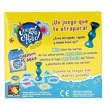 Amazon.com: Asmodee – Jungle Speed Beach, jsbeac01es: Toys ...