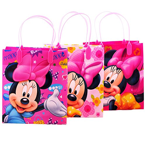Disney Minnie Mouse Party Favor Goody Gift Bags - 8