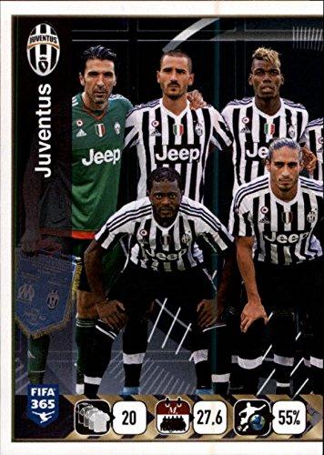 2015-16 Panini FIFA 365 Stickers #567 Juventus Team (Stickers 567)