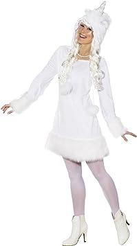 NET TOYS Disfraz Mujer Unicornio - ES 40/42 (S/M) | Vestido ...