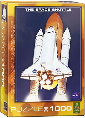 EuroGraphics The Space Shuttle Atlantis 1000 Piece Puzzle