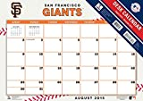 Turner 2016 17-Month Desk Pad, San Francisco Giants, 12 x 17 inches (8900554)