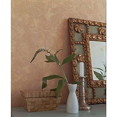 Graham & Brown 56 sq. ft. Plaster Paintable White Wallpaper