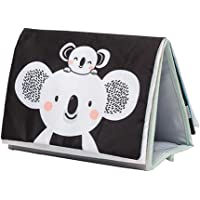 Taf Toys Koala Infant Tummy-time Soft Crinkle Activity Book with Huge Baby Safe Mirror, 3D Activities, Textures and a…