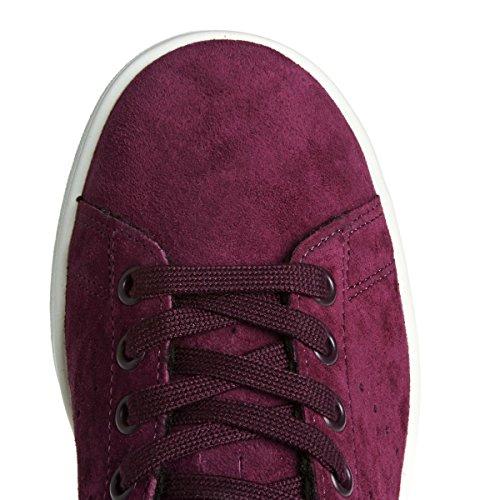 Scarpe Da Tennis Adidas Originals Stan Smith Da Donna Rosso Scuro / Bordo