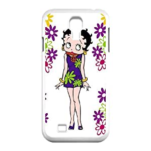 YYCASE Customized Betty Boop Pattern Protective Case Cover for Samsung Galaxy S4 I9500