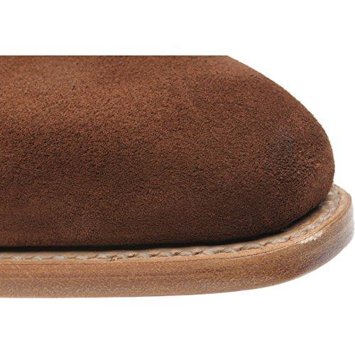 Herring 137096683 - Zapatos de Cordones de Ante Para Hombre Marrón Snuff Suede