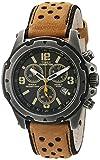 Timex Men's TW4B01500 Expedition Sierra Tan/Black Leather Strap Watch