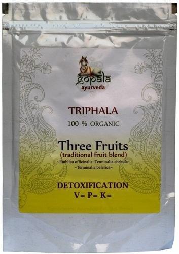 Triphala порошок 100% USDA сертифицированных органических - 100gm