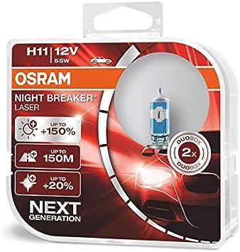 Osram Night Breaker Laser H11 next Generation, +150% mehr